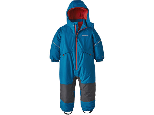 Patagonia Snow Pile One-Piece Infant, balkan blue
